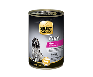 SELECT GOLD Pure konzerv junior lóhús 400g