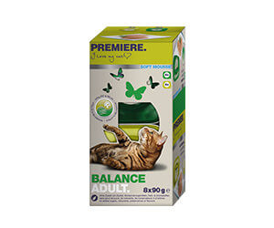 PREMIERE Soft tálka MP adult balance 8x90g