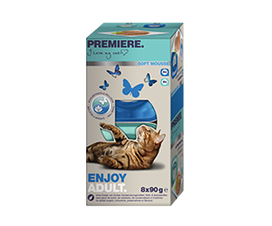 PREMIERE Soft tálka MP adult enjoy 8x90g