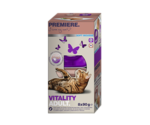 PREMIERE Soft tálka MP adult vitality 8x90g