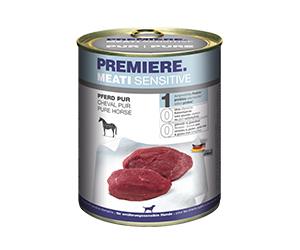 PREMIERE Meati Sensitive konzerv adult lóhús 800g