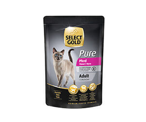 SELECT GOLD Pure tasak adult lóhús 85g