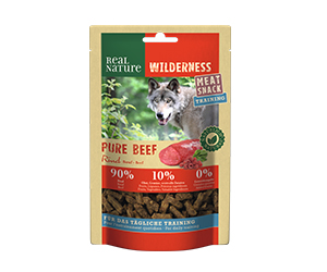 Real Nature Wilderness Meat Snack train.minis marha 150g