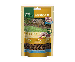 Real Nature Wilderness Meat Snack train.minis kacsa 150g