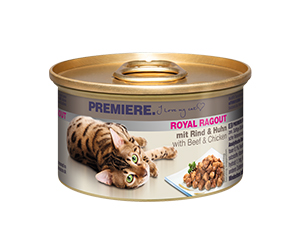PREMIERE Royal Ragout konzerv adult ragu marha&csirke 85g