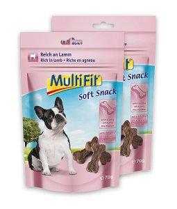 2 db MultiFit Soft kutya jutalomfalat 70g vásárlása esetén 1 db ára: