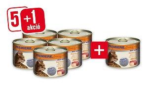 5+1 PREMIERE Meat Menu konzerv 200g vásárlása esetén 1 db ára: