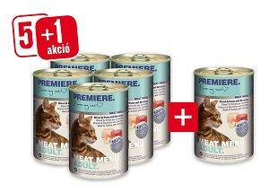 5+1 PREMIERE Meat Menu konzerv 400g vásárlása esetén 1 db ára: