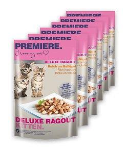 6 db PREMIERE Deluxe Ragout tasak 85g vásárlása esetén 1 db ára: