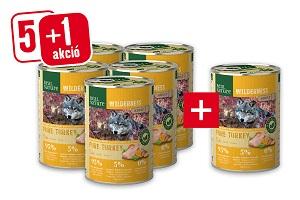 5+1 REAL NATURE WILDERNESS konzerv 400g vásárlása esetén Pl. Adult marha 1 db ára: