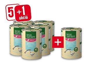 5+1 db REAL NATURE Classic konzerv 400g vásárlása esetén 1 db ára: