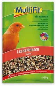 MultiFit madár csemege (többféle) Pl. kismag kanárinak 20g