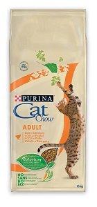 CAT CHOW száraz macska eledel 15 kg (többféle) Pl. Adult pulyka&csirke 15kg