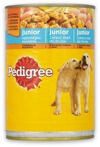Pedigree konzerv kutyáknak 400g (többféle)
