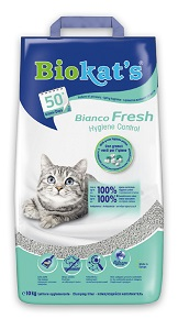 Biokat's cicaalom Fresh bianco 8+2kg