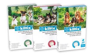 Kiltix kullancs-bolha elleni nyakörv (több méret) Pl. small S