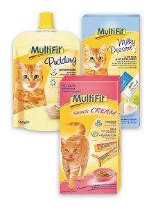 MultiFit tejes finomságok (többféle) Pl. puding 150g