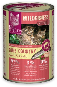 REAL NATURE WILDERNESS konzerv (macska) 400g