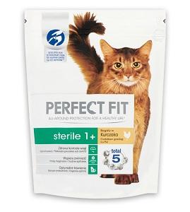 PERFECT FIT száraz eledel macskáknak Pl. 750g