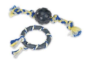 AniOne kutyajáték (többféle) Pl. gumilabda kötéllel 8cm