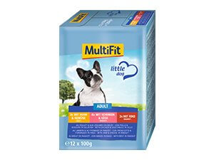 MultiFit tasak MP little adult 12x100g