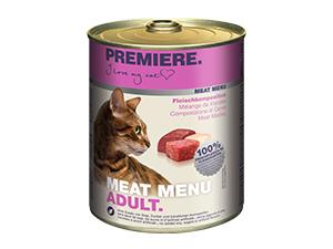 PREMIERE MM konzerv adult húsos 800g