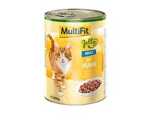 MultiFit konzerv zselé adult csirke 400g