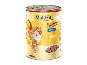 MultiFit konzerv szósz adult csirke 400g