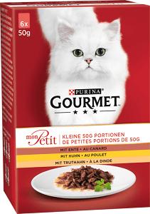 GOURMET Mon Petit tasakos macska eledel MP 6x50g