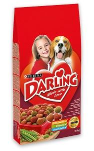 DARLING száraz kutya eledel 15kg (2-féle)