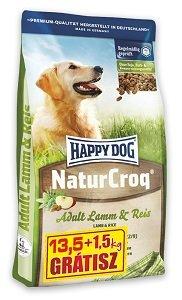 BONUSBAG - Happy Dog Natur Croq száraz kutya eledel (többféle) Pl. bárány&rizs 13,5+1,5kg