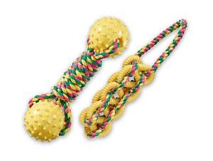 AniOne TPR kutyajáték, kötél kültérre 20-30cm (többféle)