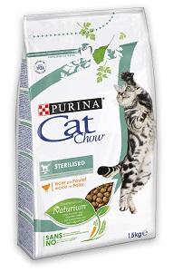 CAT CHOW száraz macska eledel (többféle) Pl. Steril 1,5kg