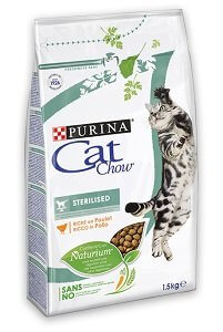 CAT CHOW száraz macska eledel 1,5kg Pl. Steril