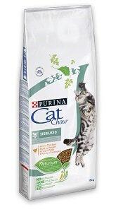 CAT CHOW macska száraz eledel 15kg (többféle) Pl. steril