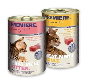 5+1 AKCIÓ - PREMIERE Meat Menu konzerv 400g 1 db ára (5+1 esetén):