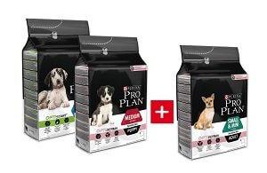 2+1 AKCIÓ - PRO PLAN száraz kutya eledel 3kg