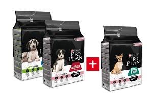 2+1 AKCIÓ – PRO PLAN száraz kutya eledel 3kg
