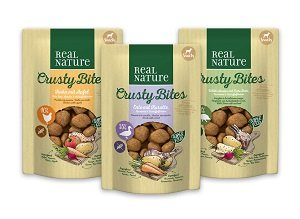 REAL NATURE Crusty Bites snack kutyáknak 150g