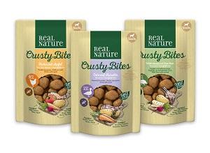 REAL NATURE Crusty Bites snack kutyáknak 150g
