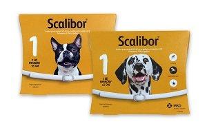 Scalibor nyakörv kutyáknak kullancs+lepkeszúnyog ellen (2-méret) Pl. 48cm