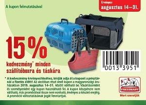 15% KEDVEZMÉNY KUPONNAL - MINDEN szállítóboxra, táskára