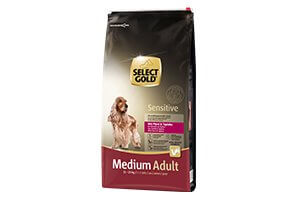 Select Gold Sensitive medium adult ló&tápióka 12kg