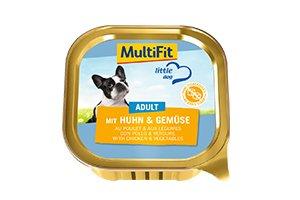 MultiFit LD tálka adult csirke&zöldség 150g