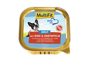 MultiFit LD tálka adult marha&burgonya 150g