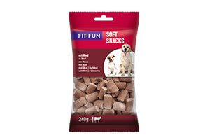 Fit+Fun Soft Snack marha 240g