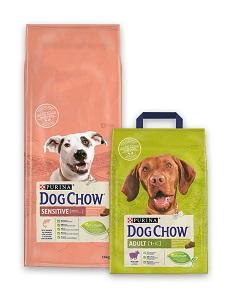 DOG CHOW száraz kutya eledel 2,5kg/14kg (többféle) Pl. adult bárány 14kg