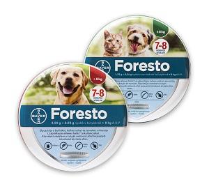 Foresto kutya/cica kullancs-, bolhanyakörv (2-méret) Pl. 8kg alatt 38cm