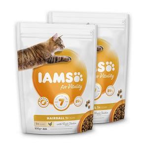 2 db esetén IAMS száraz macska eledel Pl. Vitality adult lazac 800g 1 db ára: