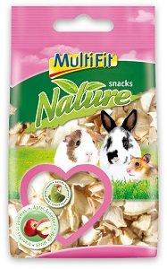 MultiFit nature snack kisemlősöknek (többféle) Pl. alma chips 70g